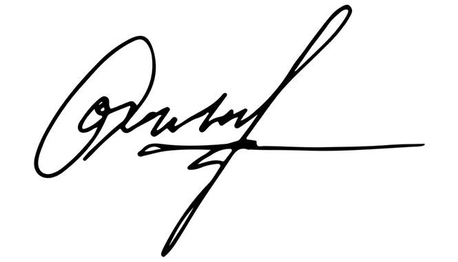 a signature